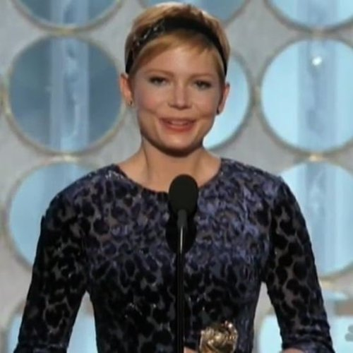 Michelle Williams Golden Globes Acceptance Speech (Video)