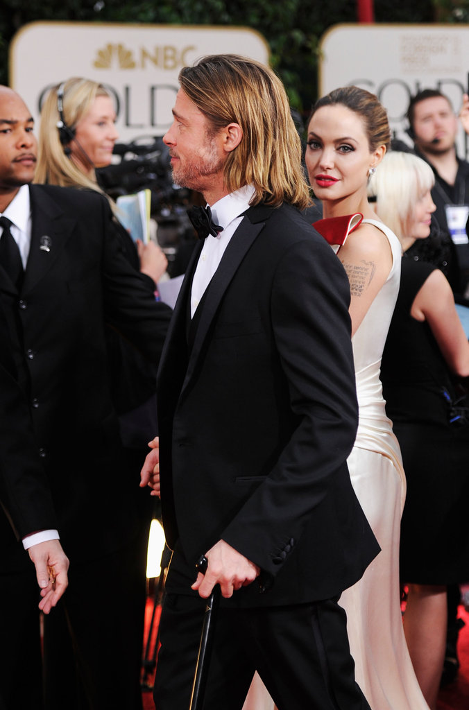 Brad Pitt and Angelina Jolie walked the red carpet.