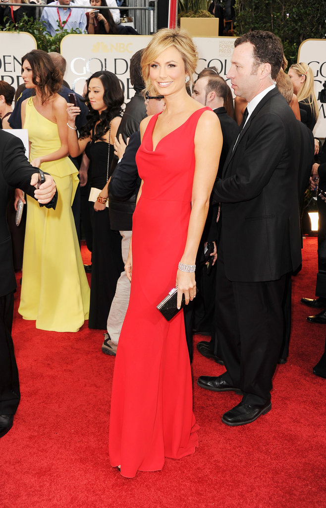 George Clooney Steps Out For the Globes With Red-Hot Stacy Keibler