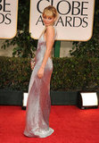 Nicole Richie stepped onto the red carpet at the 2012 Golden Globe Awards.