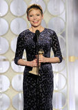 Michelle Williams thanked her daughter during her Golden Globes acceptance speech for My Week With Marilyn.