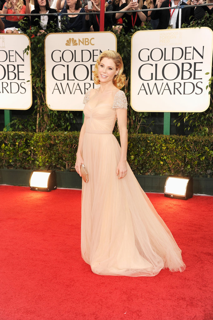 Julie Bowen at the Golden Globes.