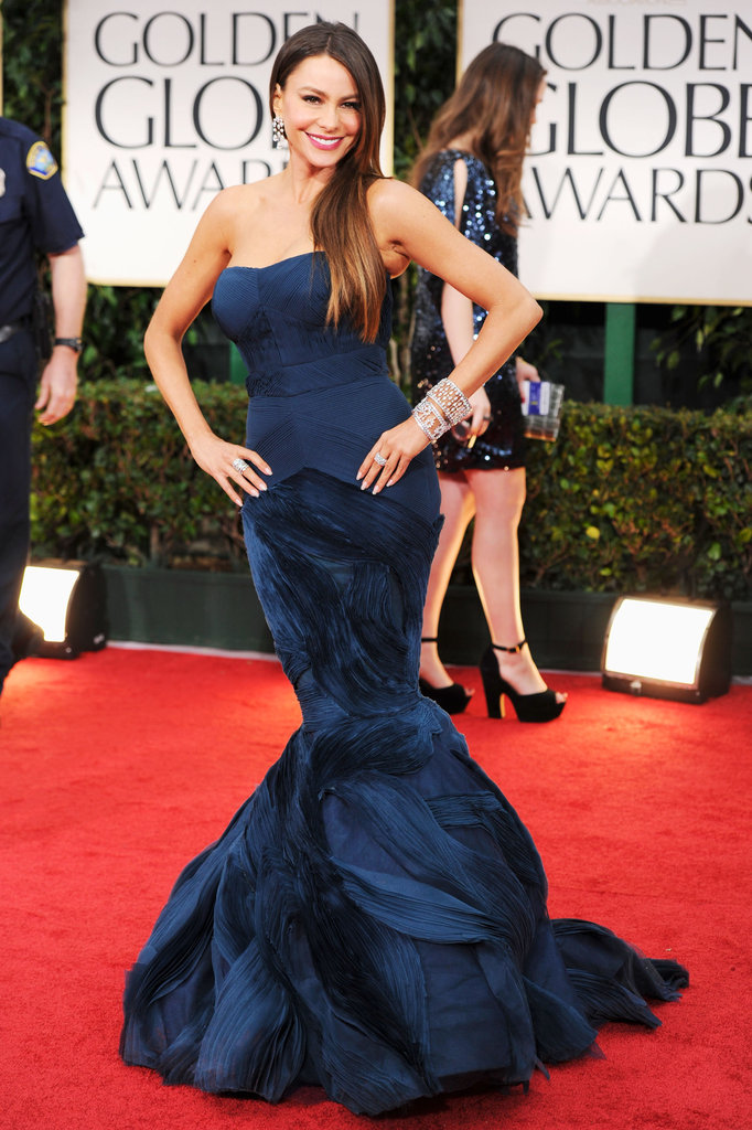 Fishtail Hems at the Golden Globes