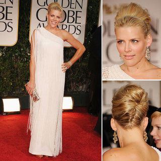 Busy Philipps at Golden Globes 2012