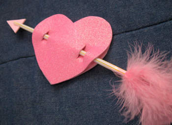 Cupid Heart Card