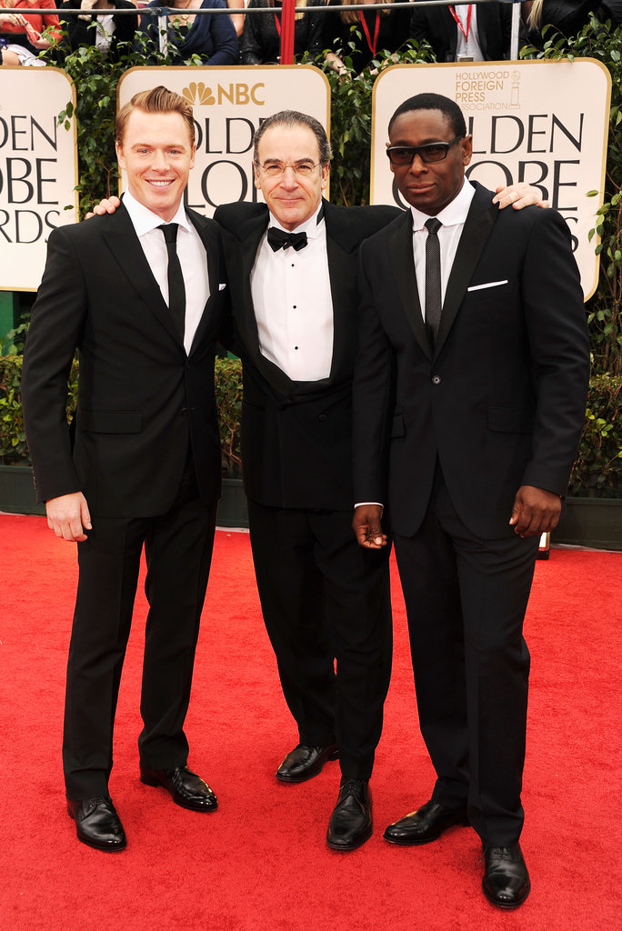 Homeland's Diego Klattenhoff, Mandy Patinkin, and David Harewood hit the red carpet.
