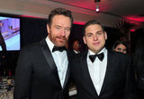 Bryan Cranston and Jonah Hill rock their bow ties.