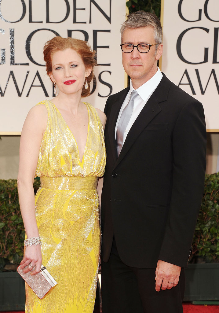 Mireille Enos and Alan Ruck walk the red carpet.