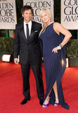 Rob Lowe and wife Sheryl Berkoff pose for a pic.
