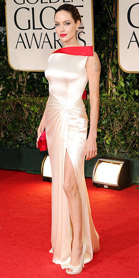 Angelina Jolie(2012 Golden Globes)