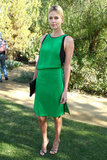 Charlize Theron went for a bold dress.