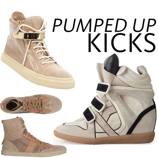 Most Wanted: Top 10 High Fashion, High Top Trainers