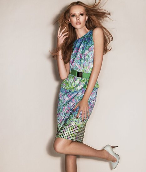 Sportmax Spring 2012 Ad Campaign