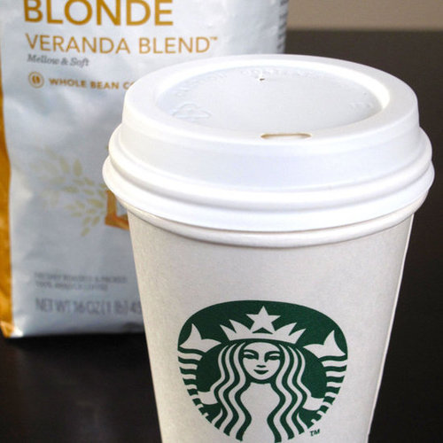 Starbucks Blonde Coffee Taste Test