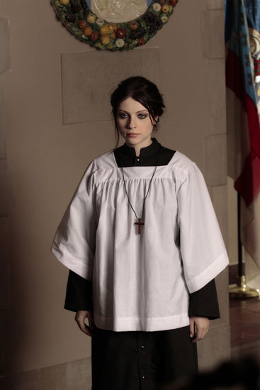 Michelle Trachtenberg as Georgina Sparks on Gossip Girl.  Photo courtesy of The CW