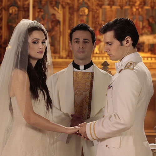 Gossip Girl Season 5 Pictures of Blair and Louis' Royal Wedding
