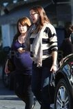 Pregnant Jennifer Garner and Marla Sokoloff out in LA.