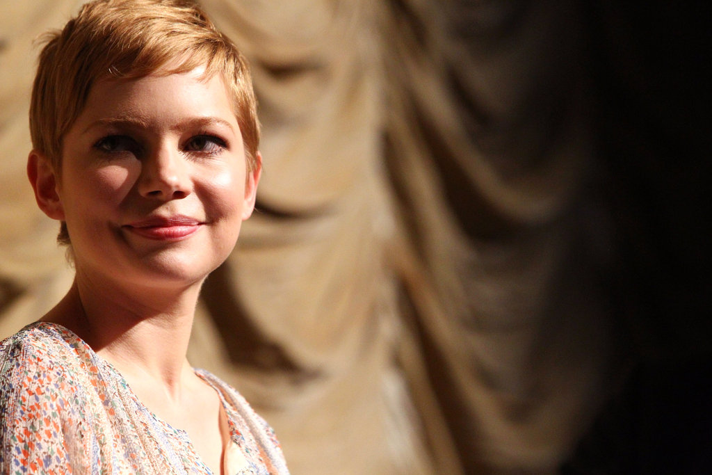 Michelle Williams took the stage at LACMA.