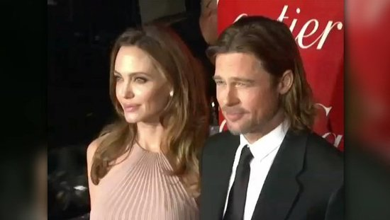 "Video: Angelina Jolie Says She's ""Proud"" of Brad Pitt Whether or Not He Wins Award Season"