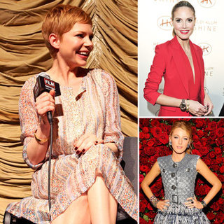 Celebrities Wearing Bracelets and Cuffs 2012