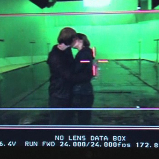 A Behind-the-Scenes Look at Ron and Hermione's First Kiss