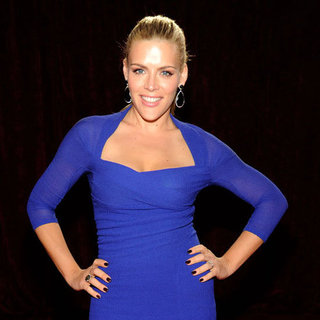 Busy Philipps Blue Dress Pictures at People's Choice Awards