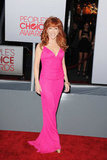 Kathy Griffin was on the red carpet at the People's Choice Awards.