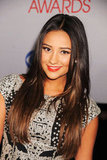 Shay Mitchell at the 2012 People's Choice Awards in LA.