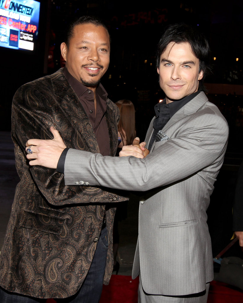 Terrence Howard and Ian Somerhalder