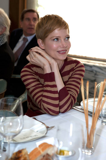 Michelle Williams at a lunch for My Week With Marilyn.