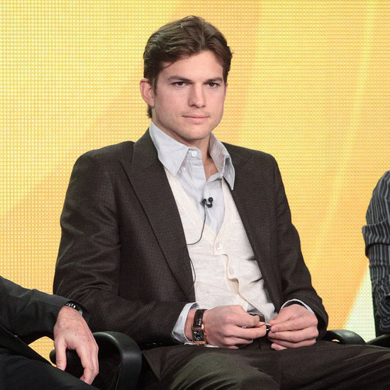 Ashton Kutcher Debuts a Hot New Look and Is Still Wearing His Wedding Ring