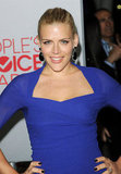 Busy Philipps in a blue Carven dress at the 2012 People's Choice Awards.
