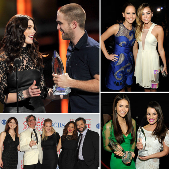 Celebrity Pictures at 2012 People's Choice Awards: Robert Pattinson, Jennifer Lawrence, Emma Stone, Miley Cyrus