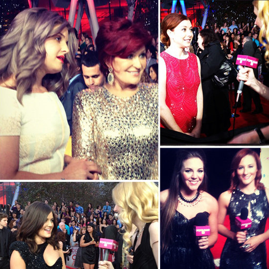 See All the Behind-the-Scenes Action at the People's Choice Awards!