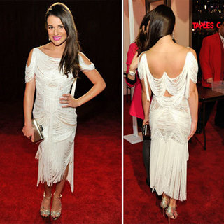 Lea Michele at 2012 People's Choice Awards