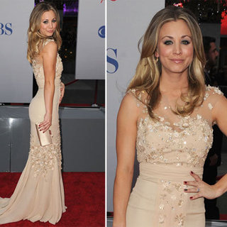 Kaley Cuoco at 2012 People's Choice Awards