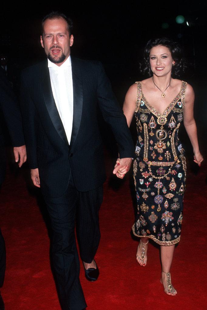 Bruce and Demi