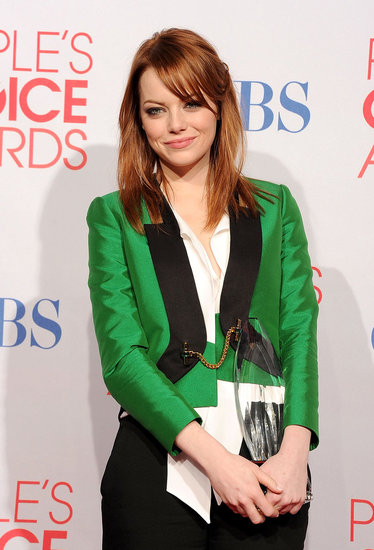Emma Stone Is a Big Winner at the People's Choice Awards