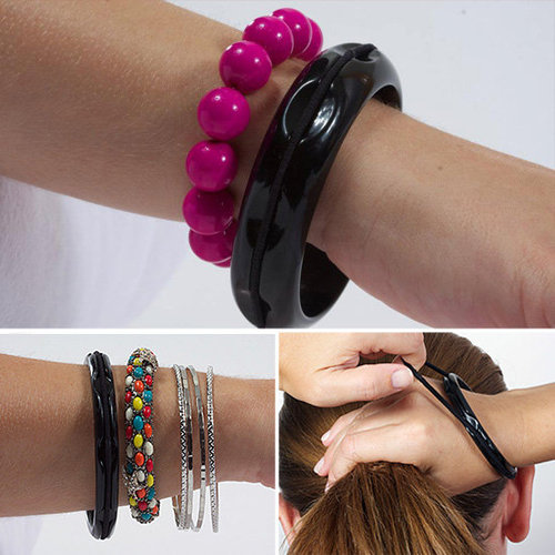Hair Bangles: Bracelets That Hold Hair Elastics