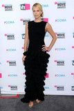 Charlize Theron had a tiered skirt on her Azzedine Alaïa Fall 2011 gown.