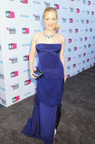Wendi McLendon-Covey went strapless at the 2012 Critics' Choice Movie Awards.
