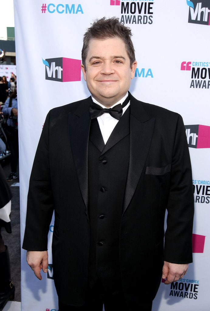 Patton Oswalt arrived at the 2012 Critics' Choice Movie Awards.