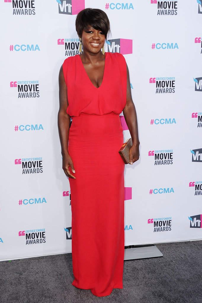 Viola Davis in a captivating Raoul dress.