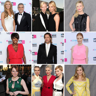 Critics' Choice Award Fashion Pictures 2012