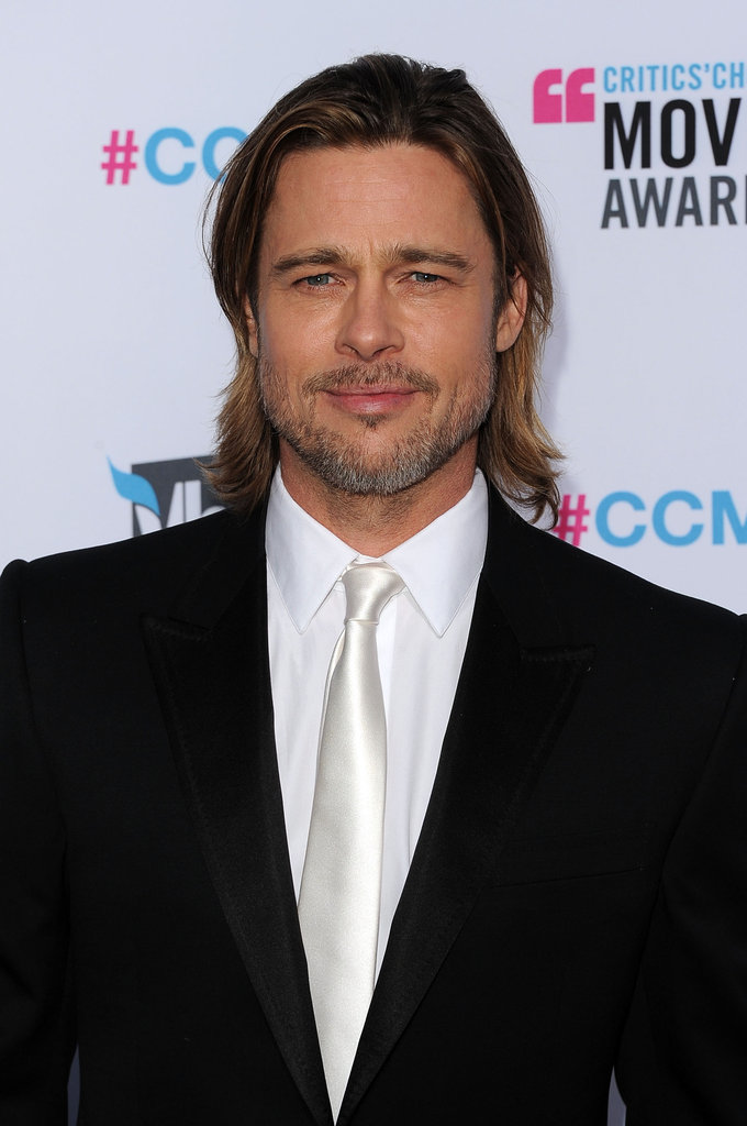 Brad Pitt was handsome in LA.