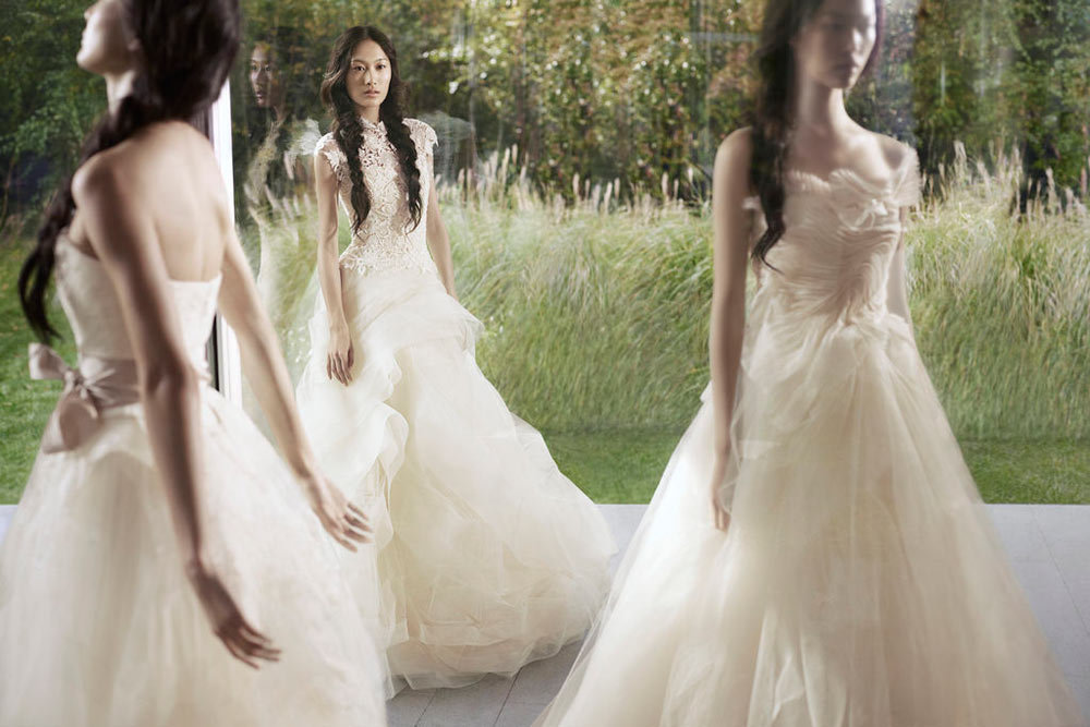 How dreamy are these Vera Wang Spring '12 wedding gowns? Source: Fashion Gone Rogue