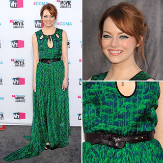 Emma Stone at Critics' Choice 2012