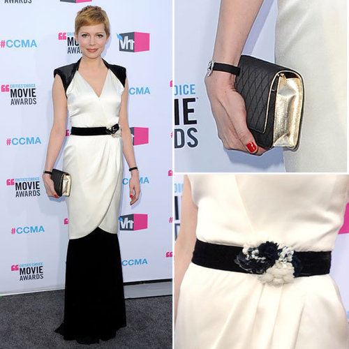 Michelle Williams at Critics' Choice 2012