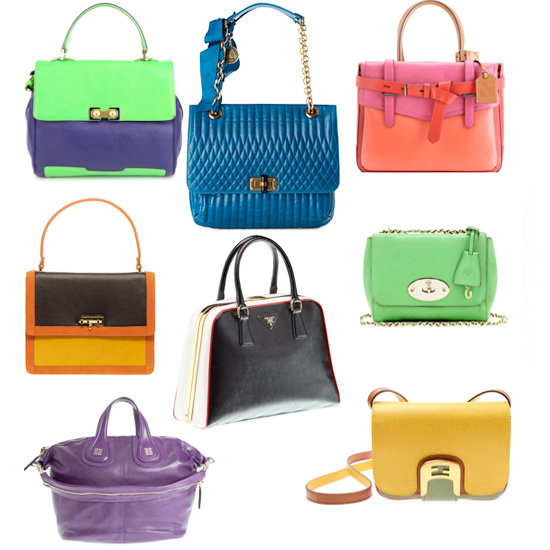 Do You Want Your Next Bag to be Solid or Colour Block?