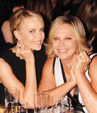 Charlize Theron has a mother-daughter moment with her mom Gerda Theron.